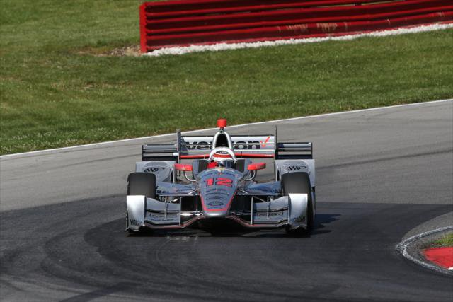 Indycar | Power in pole a Mid-Ohio