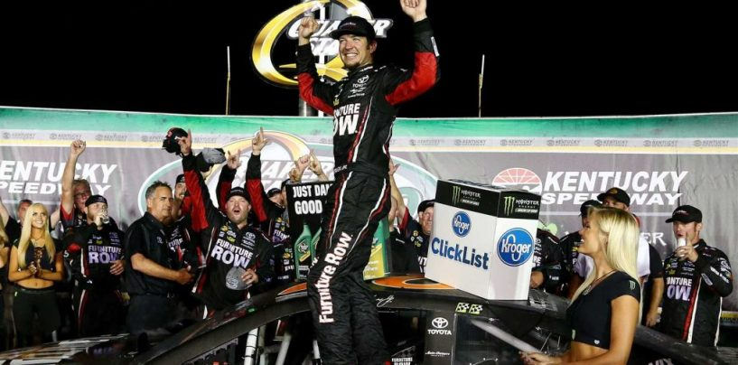"<span class=""entry-title-primary"">NASCAR | Martin Truex Jr. domina in Kentucky</span> <span class=""entry-subtitle"">Il pilota del Furniture Row Racing vince e torna in testa alla classifica generale</span>"