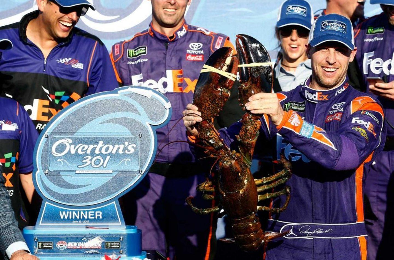 NASCAR | Denny Hamlin vince in New Hampshire