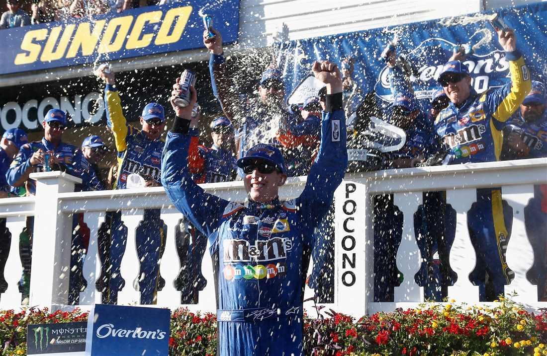 NASCAR | Kyle Busch rompe il digiuno e vince a Pocono!