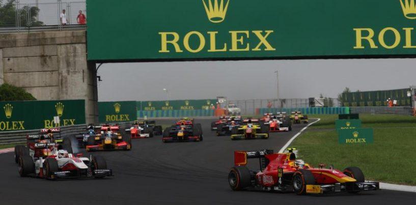 """<span class=""""entry-title-primary"""">F2   GP Ungheria 2017 - Anteprima</span> <span class=""""entry-subtitle"""">Leclerc in caccia di nuovi record prima del test con la Ferrari</span>"""