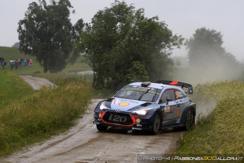 WRC | Polonia: continua il testa a testa Neuville-Tänak, Ogier scivola sesto