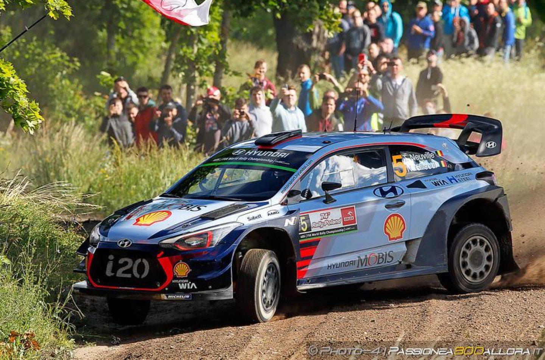 WRC | Polonia: Neuville vince dopo il botto di Tänak, doppietta Hyundai