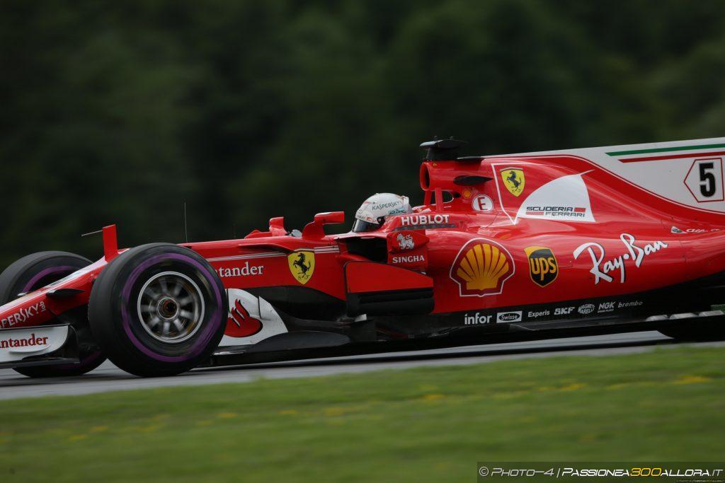 F1 | GP Austria, FP3: Vettel in testa, problemi per Hamilton nel finale