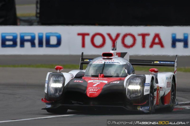 WEC   Nürburgring: Toyota #7 in pole davanti alle Porsche