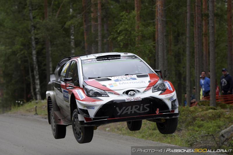 WRC | Finlandia: Lappi prende il comando, tripletta finnica