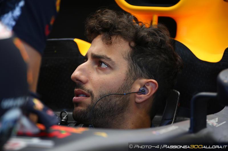 Il fu sorridente Daniel Ricciardo