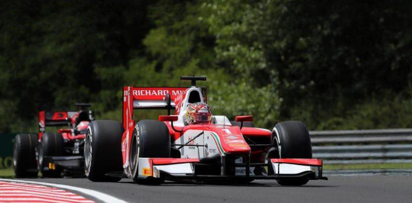 """<span class=""""entry-title-primary"""">F2   Ungheria: settima pole stagionale per Leclerc</span> <span class=""""entry-subtitle"""">Anche all'Hungaroring il monegasco è imbattibile: quasi mezzo secondo a Rowland</span>"""