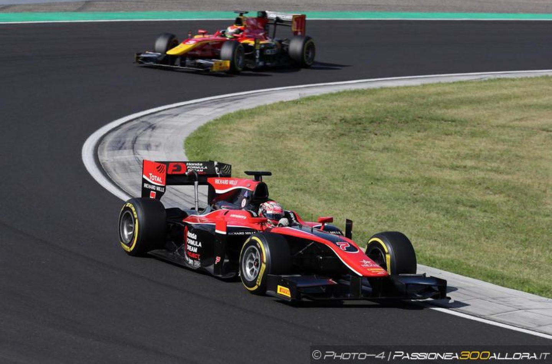 F2 | Ungheria: Matsushita vince la sprint race davanti a Rowland