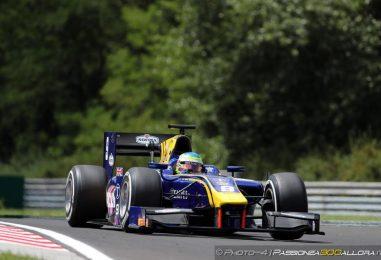 F2 | Ungheria: squalificato Leclerc, pole a Rowland