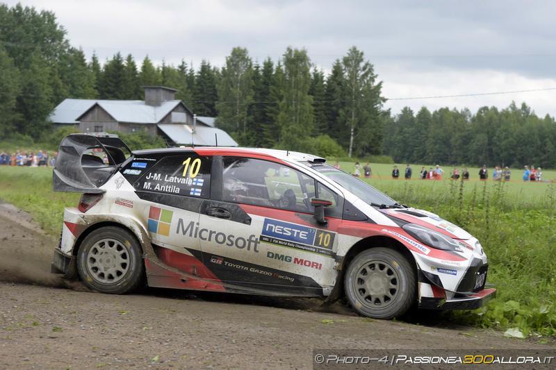 WRC | Finlandia: Latvala nuovo leader, ora è poker dei piloti di casa