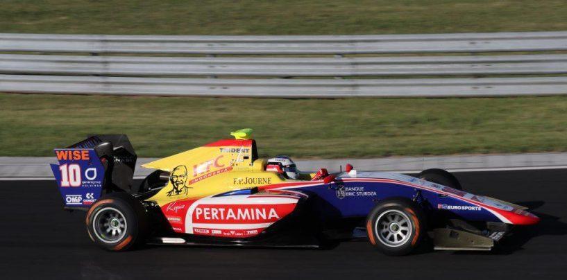"<span class=""entry-title-primary"">GP3 | GP Ungheria, Alesi vince Gara 2, poker Trident</span> <span class=""entry-subtitle"">Il francese conquista la seconda vittoria in GP3.</span>"