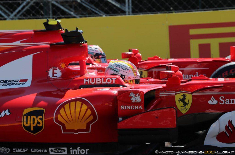 F1   GP Ungheria: doppietta Ferrari Vettel-Raikkonen, ma che ansia!