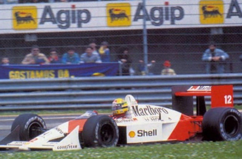 La pole più schiacciante: Silverstone '92 o Imola '88?