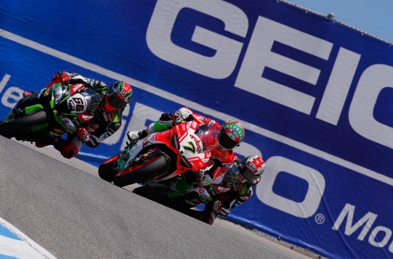 SBK | GP Stati Uniti: Davies infuocato nella prima gara a Laguna Seca