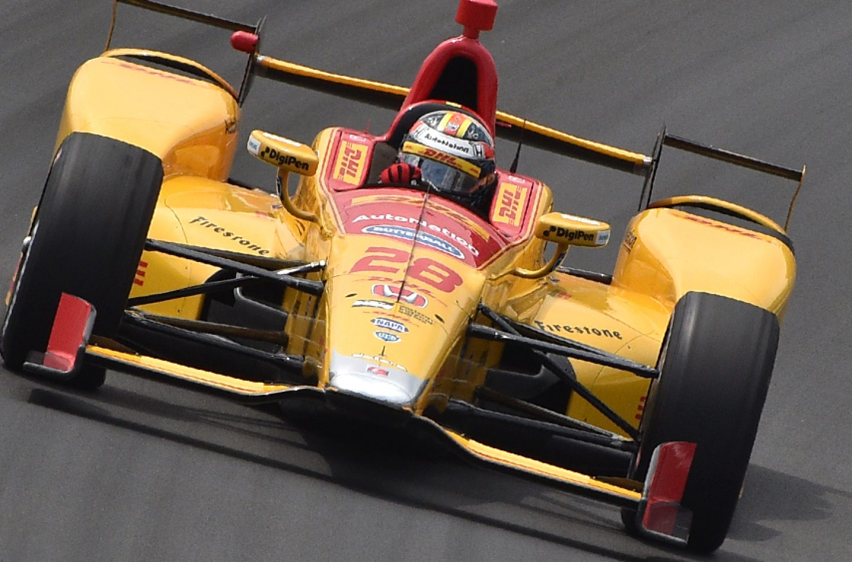 Indycar | Hunter-Reay il più veloce nelle prime libere a Pocono