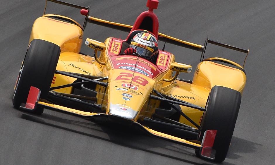 Indycar   Hunter-Reay il più veloce nelle prime libere a Pocono