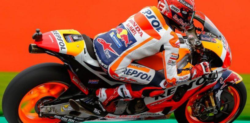 """<span class=""""entry-title-primary"""">MotoGP   GP Gran Bretagna: Marquez in pole per la quarta volta consecutiva</span> <span class=""""entry-subtitle"""">Pole completata con un giro sotto i due minuti. Rossi e Crutchlow completano la prima fila</span>"""