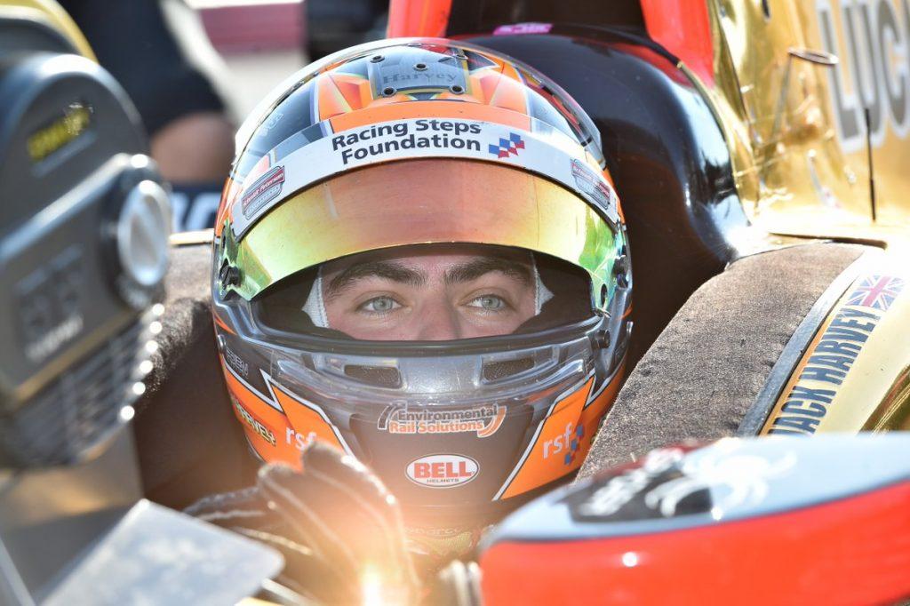 Indycar   Harvey correrà per Schmidt al Glen e a Sonoma
