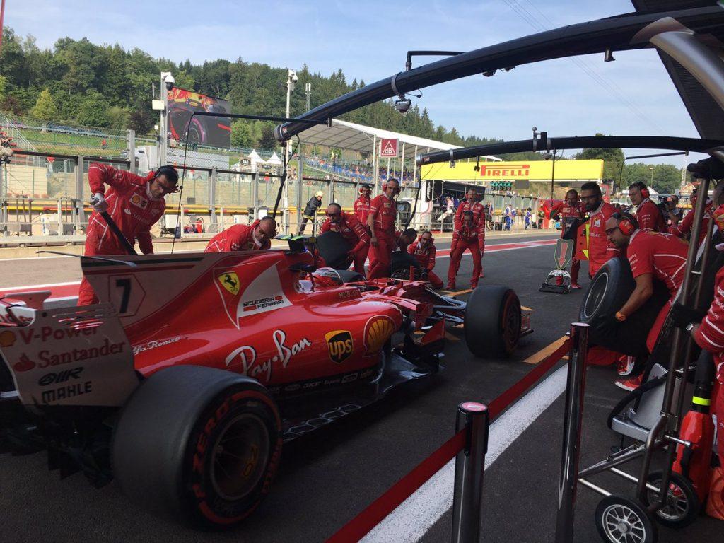 F1 | GP Belgio, Raikkonen il più veloce nelle FP1