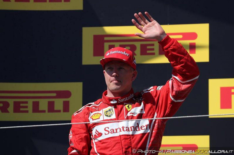 F1 | Kimi Räikkönen rinnova con Ferrari