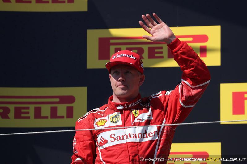 F1   Kimi Räikkönen rinnova con Ferrari