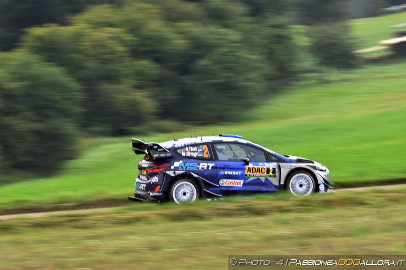 WRC | Germania: Tänak domina sotto la pioggia, Neuville supera Ogier