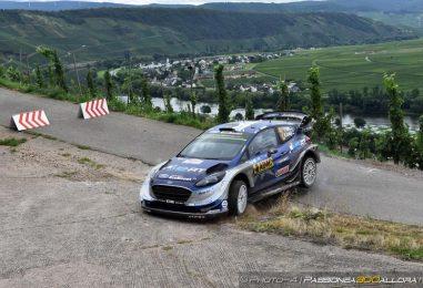 WRC | Germania: Tänak mantiene la vetta, Neuville out
