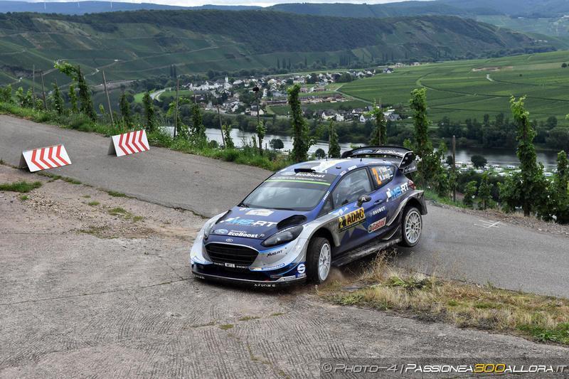 WRC   Germania: Tänak mantiene la vetta, Neuville out