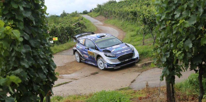 "<span class=""entry-title-primary"">WRC | Germania: vince Tänak, Ogier a +17 su Neuville</span> <span class=""entry-subtitle"">Prima vittoria su asfalto per l'estone, Mikkelsen e Ogier completano il podio</span>"