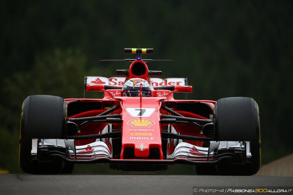 F1 | GP Belgio, Raikkonen fulmine in FP3 davanti a Vettel