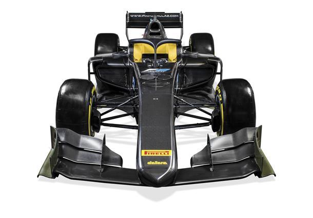 F2 | Presentata la nuova vettura