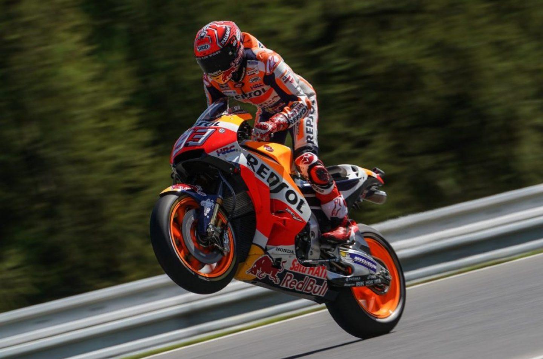 MotoGP | GP Repubblica Ceca: Marquez in pole anche a Brno
