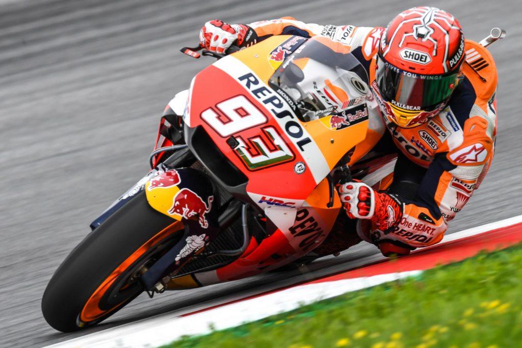 MotoGP | GP Austria: 70 pole per Márquez, Ducati ufficiali in prima fila