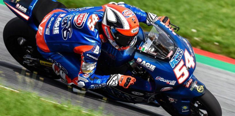 """<span class=""""entry-title-primary"""">Moto2   GP Austria: Pasini in pole, Morbidelli a un millesimo!</span> <span class=""""entry-subtitle"""">L'Italia sbanca nelle qualifiche della classe di mezzo</span>"""