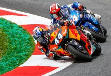 Moto2 | GP Aragona: pole di Oliveira, prima fila per Pasini e Marquez