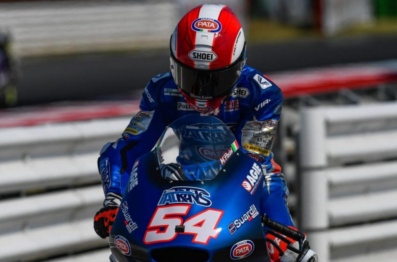 Moto2 | GP San Marino: quarta pole consecutiva di Mattia Pasini
