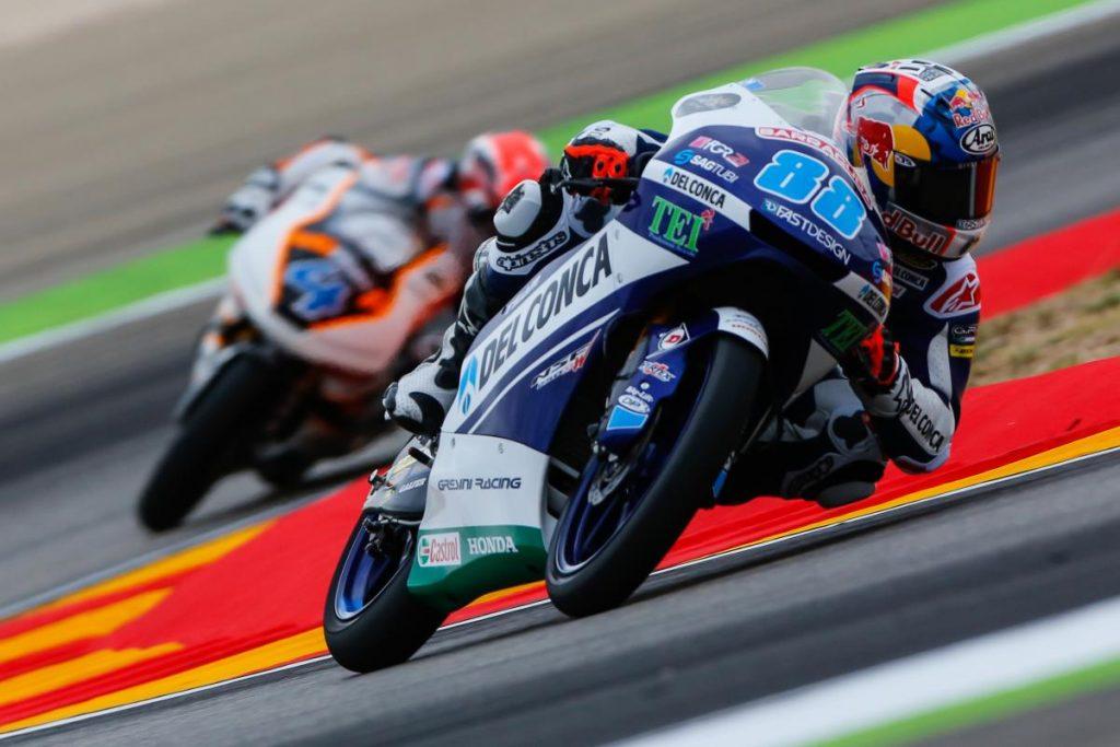 Moto3 | GP Aragona: Settima pole stagionale per Martin