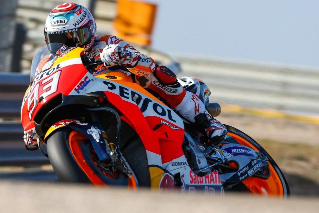 MotoGP | GP Aragona: quinta vittoria stagionale di Marquez, doppietta Honda