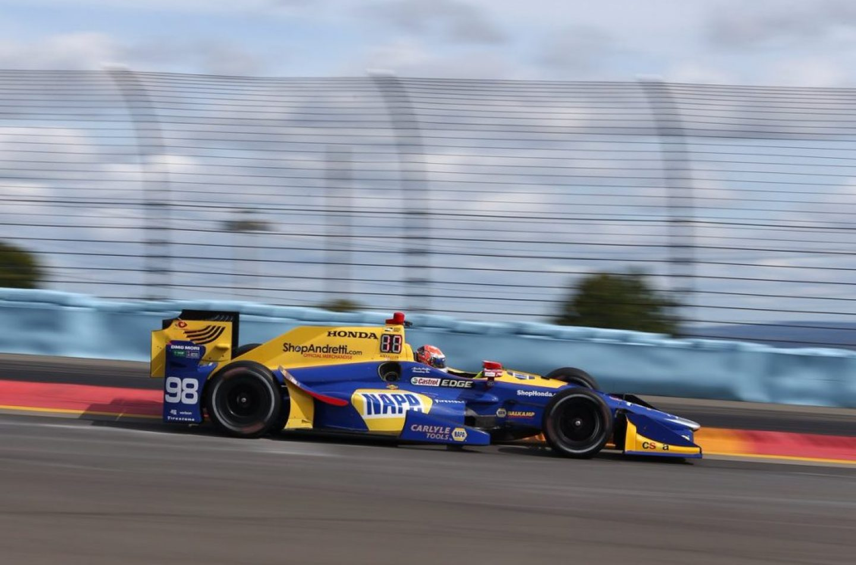 Indycar | Rossi conquista la pole a Watkins Glen