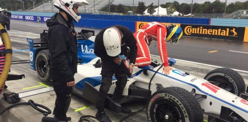 "<span class=""entry-title-primary"">Indycar | Bourdais primo nel warm up</span> <span class=""entry-subtitle"">A Watkins Glen è arrivata la pioggia, stasera la gara</span>"