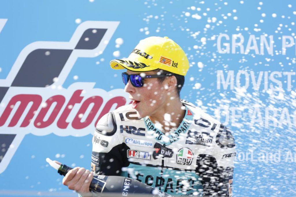 Moto3   GP Aragona: torna a vincere Mir, podio completato dagli italiani