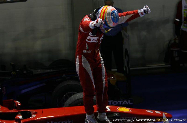 Singapore 2010: la prova di forza di Fernando