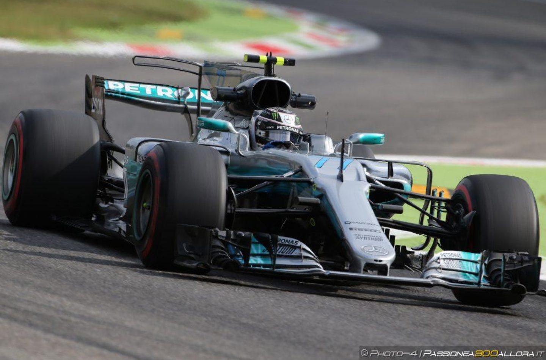 F1   GP Italia, FP2: Bottas al comando su Hamilton, Vettel vicino