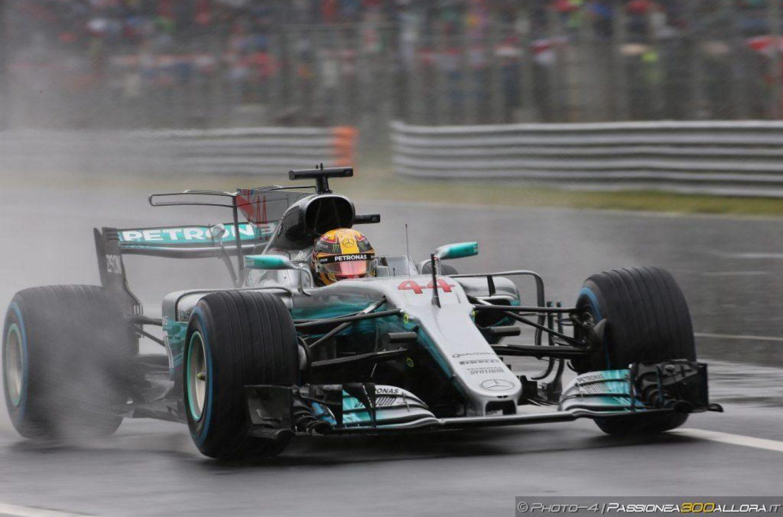 F1 | GP Italia, qualifiche incubo per la pioggia. Pole 69 per Hamilton