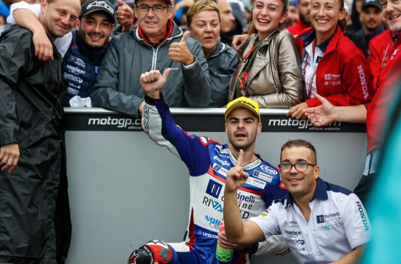 Moto3 | GP San Marino: dominio di Romano Fenati sotto la pioggia