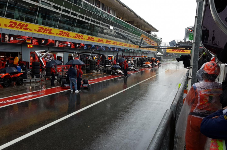 GP3   GP Italia, qualifiche cancellate per la pioggia