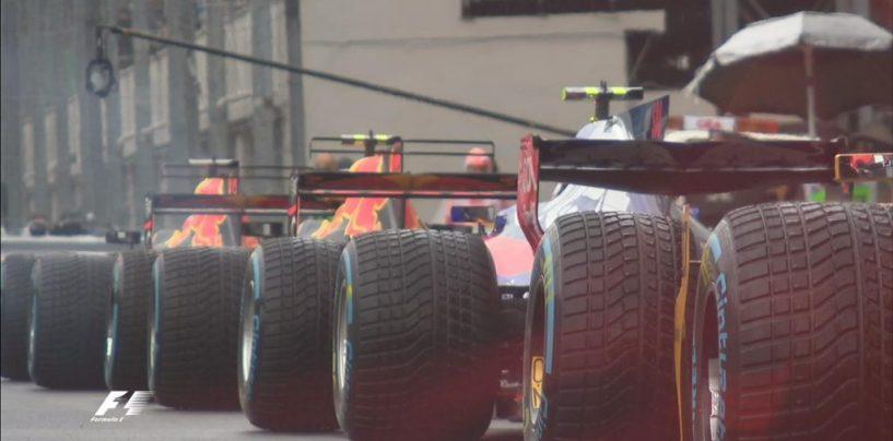 """<span class=""""entry-title-primary"""">F1   GP Italia, le FP3 durano solo 15 minuti per la pioggia</span> <span class=""""entry-subtitle"""">Il diluvio su Monza non risparmia neanche la F1, che perde 45 minuti di sessione</span>"""