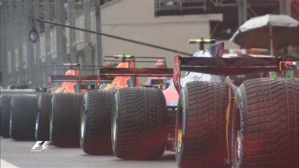 F1 | GP Italia, le FP3 durano solo 15 minuti per la pioggia