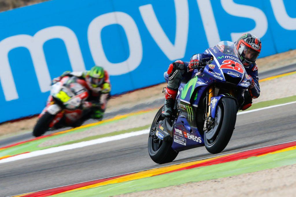 MotoGP   GP Aragona: Vinales in pole, ma che Rossi!